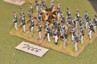 25mm napoleonic / russian - grenadiers 32 figs metal painted - inf (7666)
