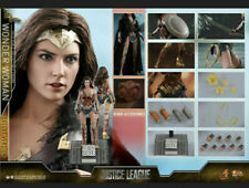Hot Toys 1/6 Wonder Woman Female Figure Model Gal Gadot HT MMS451 Deluxe Toy Gif