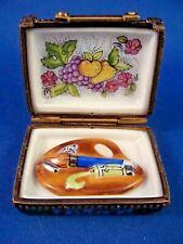 Paint Box - Fruit and Flower Painting - Paint Palette - Authentic Limoges box
