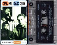 Real McCoy Automatic Lover 1995 Cassette Tape Single Pop Dance Rock