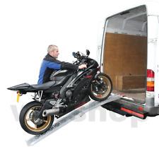 Rampa Pedana pieghevole carico scarico Moto Strada Cross 217 X 23 cm alluminio