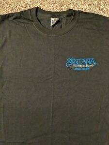 Santana Universal Tone Local Crew T Shirt - L - Black