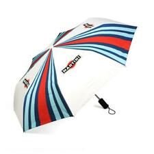 "Genuine Martini Racing Stripe & Logo Umbrella, White, 36"", NEW"