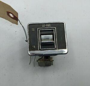 1974/75 Pontiac Buick OEM GTO DE-FOG  Switch Bezel Control Button Chrome 3940271