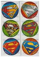 "25 Superman Logo Stickers, 2.5"" x 2.5"" each, Party Favors"