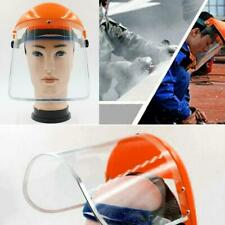 Adjustable Safety Full Face Shield Clear Glasses Protector Work Industry Dental