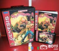 Splatterhouse 3 III Game Cartridge SEGA Genesis Boxed Manual USA Version NTSC-U