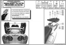 GIVI SR46M ATTACCO POSTERIORE PER BAULETTO MONOLOCK YAMAHA MAJESTY 150 05 06
