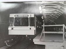Altes Foto Strassenbahn U-Bahn Wien