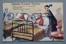 R&L Postcard: Comic, Regent, Russian Mystery, Hospital Bed Patient, Reg Maurice