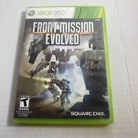 Xbox 360 Front Mission Evolved Free Shipping Video Game Good Condition