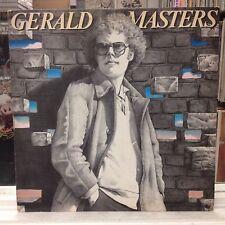 [ROCK/POP]~NM LP~GERALD MASTERS~Self Titled~[1981 HANDSHAKE Promo ]~