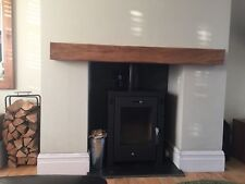 FIREPLACE MANTEL BEAM HANDMADE MANTLE LINTEL WOOD BURNER SOLID OAK MANTLEPIECE