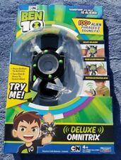 Cartoon Network Ben 10 Deluxe Omnitrix Watch CN 100+ Alien Phrases Sound Effects