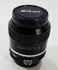 Great Nikon Nikkor 105mm f/2.5 AiS Manual Focus Lens Japan