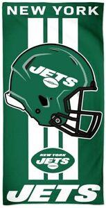 NFL Bath Towel New York Jets Towel Beach Towel Helmet 150x75 099606187550