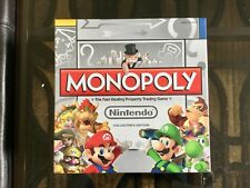 NEW Sealed NINTENDO Monopoly Family Board Game COLLECTORS Edition w/6 Tokens