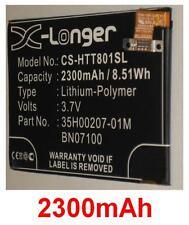 Batería 2300mAh tipo 35H00207-01M BN07100 para HTC PN07100