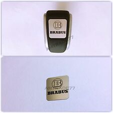 Mercedes Brabus style Stainless gearshift emblem decal w463 w212 and other model