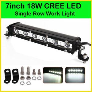7inch 36W LED Work Light Bar Flood Spot Beam Offroad 4WD SUV Driving Fog Lamp
