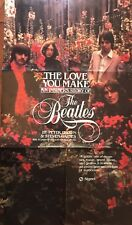 "BEATLES Original Promo Poster for Book Stores for ""The Love You Make Book"" 1983"