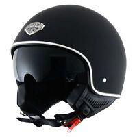 Casque casco helmet jet ASTONE MINIJET 66 NOIR MAT taille L 59 60