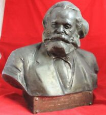 VTG USSR Bust Communism Karl Marx gift Marshal Aircraft Hero WW2 Moscow 1978