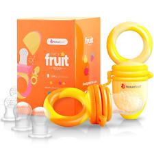 NatureBond Baby Food Feeder Fruit Pacifier 2 Pack Infant Teething Toy Teether in