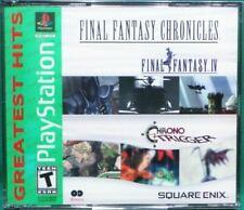 Final Fantasy Chronicles Final Fantasy Iv 4 & Chrono Trigger (PlayStation 1 Ps1)