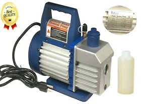Vacuum Pump 1/4HP - 1.5 CFM  / AC Air Tool R410a R134 HVAC Refrigerant