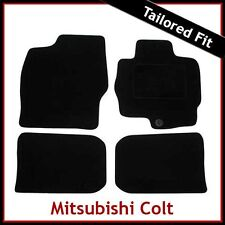 MITSUBISHI COLT Mk6 2004-2012 Fully Tailored Fitted Carpet Car Floor Mats BLACK