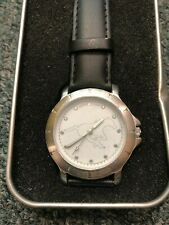 Calgary Stampeders CFL Stainless Steel Watch! Collectible Time Piece Case Stamps