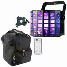 American DJ Mini Dekker LZR Moonflower & Laser Effect Light with Remote & Case