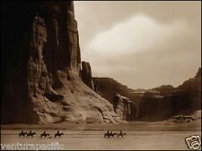 Canyon de Chelly : Edward S. Curtis : circa 1904  :  36x48 canvas print