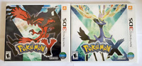 Pokemon X and Pokemon Y 3DS Lot BRAND NEW  SEALED Free Shipping