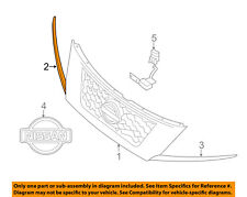 NISSAN OEM 13-16 Pathfinder Grille Grill-Chrome Strip Right 620743KA0A