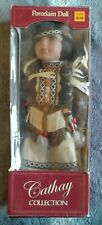 cathay collection porcelain doll native american