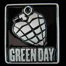 GREEN DAY HEART LIKE A HAND GRENADE BELT BUCKLE LICENSED NEW!