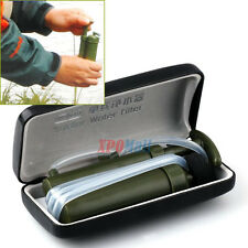 Army Soldier Water Filter Purifier Hiking Camping Climbing Survival Emergency