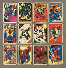 1992 Marvel Entertainment Vending Machine Foil Stickers Card Singles You Choose