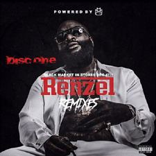 "RICK ROSS- ""RENZEL REMIXES 1 & 2"" DOUBLE CD...OFFICIAL  MIX CD..HOT!!"