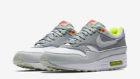 Mujeres Nike Air Max 1 319986 608 Rojo Crush (marrón)Blanco