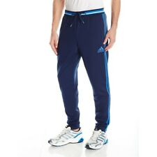 ADIDAS Originals Men's NEW Condivo 16 Training Pants 3-Striped Black Blue Gray