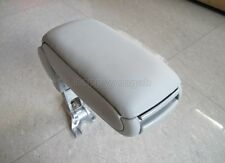 Central Console Armrest for Audi A4 S4 Center Leather 2002-2006 Gray