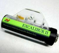 Minelab New NiMH Rechargeable Battery Pod Pack for Excalibur Metal Detector