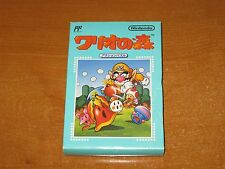 Nintendo Famicom FC NES Wario's Wood (Wario no Mori) Game Cartridge NEW