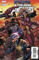 New Avengers Comic Issue 50 Modern Age First Print 2009 Bendis Billy Tan Banning