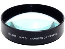 77mm. Aggiuntivo MACRO Blackdove-cameras +10 diottrie.
