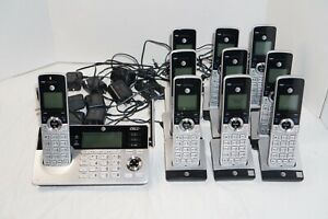 AT&T TL96497 DECT 6.0 10-Handset Cordless Phone System - Call Block & Intercom