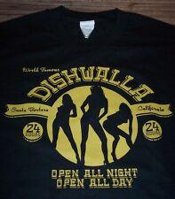 DISHWALLA Band Open All Night T-Shirt XL Santa Barbara California NEW